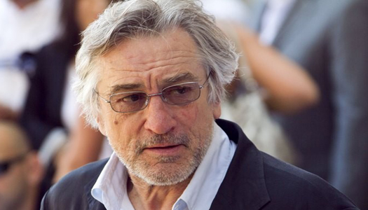 Роберт Де Ніро пошкодив ногу на зйомках нового фільму Скорсезе