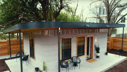 В Техасе появилась 3D-постройка для малообеспеченных