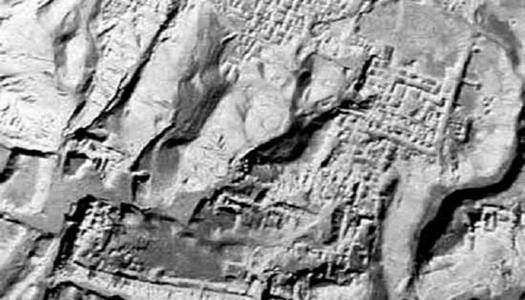 Уфологи заметили руины городов на Луне