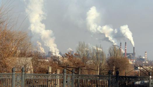 завод, экология, труба, дым