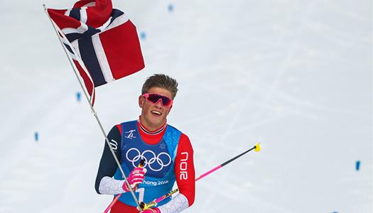 Норвежский лыжник попал в аварию