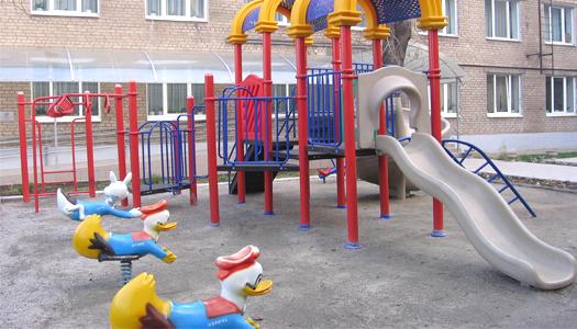 детсад, детская площадка