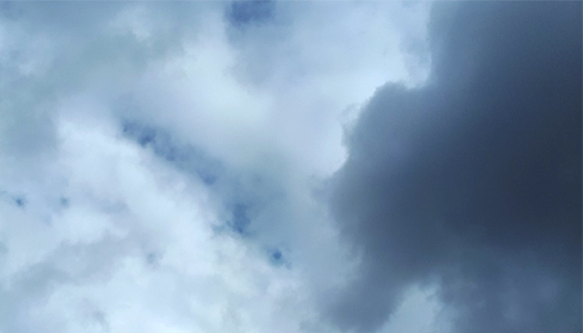 небо, самолет, погода