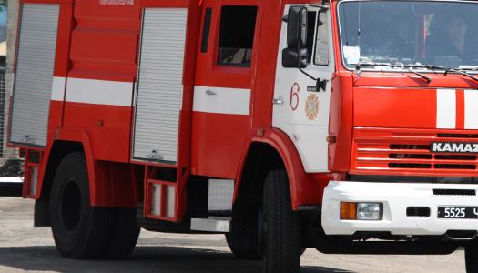 пожар, спасатели