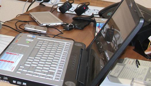 ноутбук, техно, хакер
