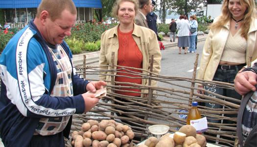 торговля, картошка, овощи, рынок, цены, еда