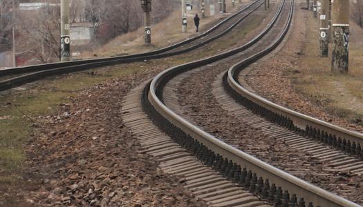 рельсы, железная дорога, поезд