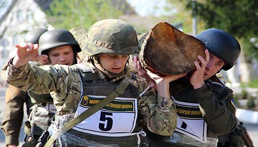 Відбулись змагання українських військових з функціонального багатоборства