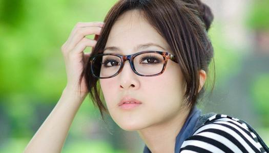 японка, очки