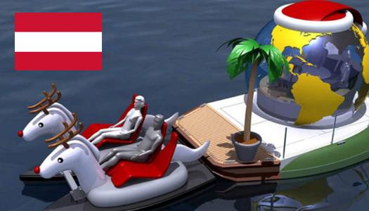 Австрия, прогулки на лодках