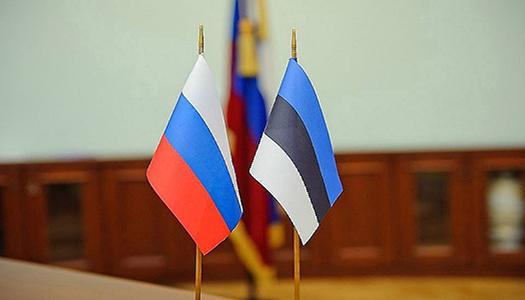 Эстония, Россия, флаги