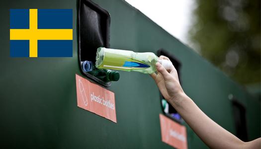 Швеция, отходы, мусор