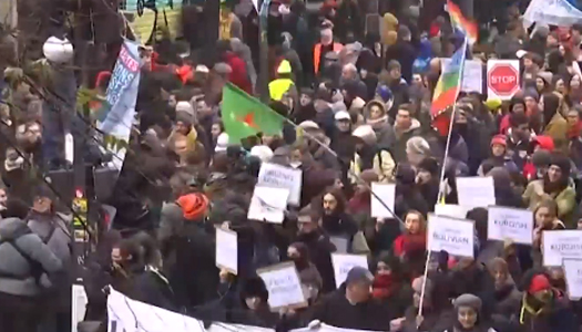 протесты в Париже, пенсионная реформа