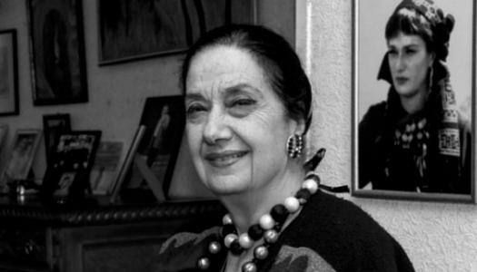 актриса Лали Бадурашвили