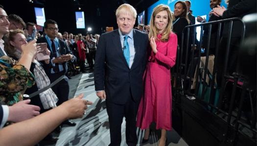 премьер министр Великобритании Борис Джонсона