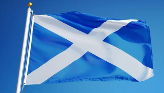 Шотлания, флаг