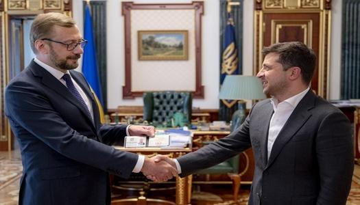 Володимир Зеленський призначив на місце Ганни Коваленко В'ячеслава Чауса